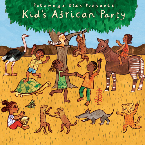 Putumayo Kids African Party Music CD 'Kids African Party'