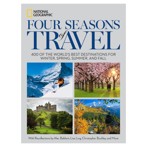 Seasonal Travel Book from National Geographic 'Four Seasons of Travel'