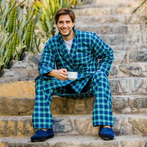 Men's Irish Brushed Cotton Flannel Pajama Pant 'High Glen'