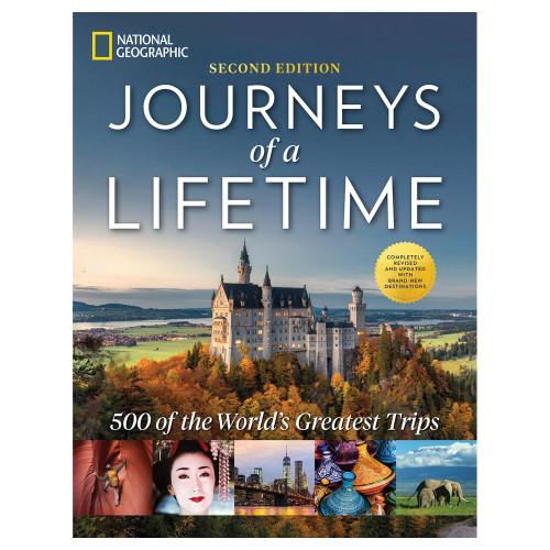 Journeys of a Lifetime NatGeo Book 2nd Edition 'Journeys of a Lifetime'