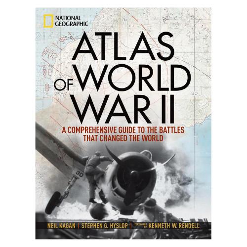 Atlas of World War ll NatGeo Hardcover Book 'Atlas of World War ll'