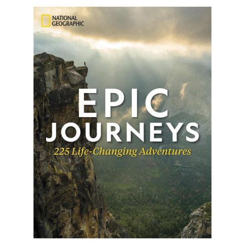 NatGeo Epic Journeys Hardcover Book 'Epic Journeys'