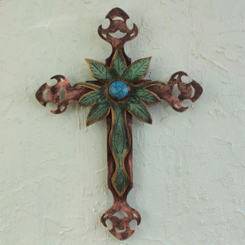 Cross Sculpture 'Living Faith'