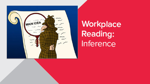 Workplace Reading: Inference