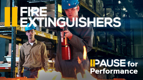 Pause for Performance: Fire Extinguishers