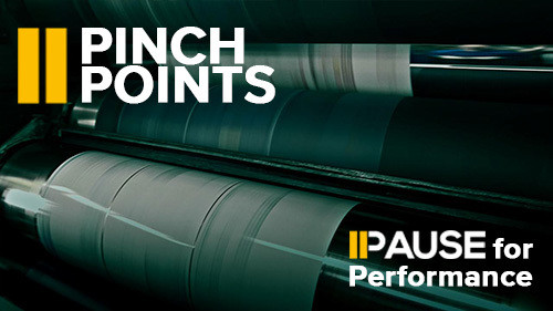 Pause for Performance: Pinch Points