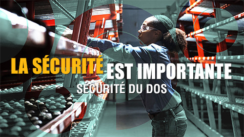 Safety Matters: Back Safety(French Canadian)