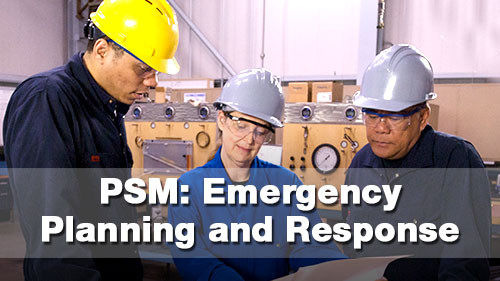 PSM: Emergency Planning & Response
