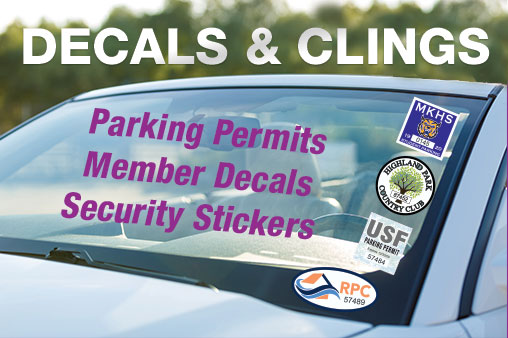 Decals & Window Clings