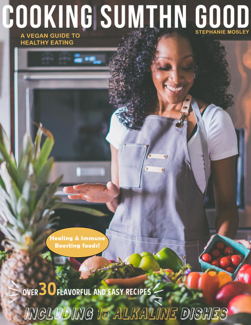 A healthy vegan cookbook featuring natural healing foods and easy recipes for the entire family!