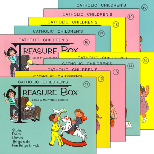 Treasure Box Set Books 11 - 20