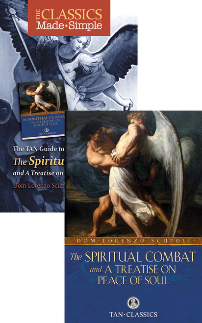 The Classics Made Simple: The Spiritual Combat and a Treatise on Peace of Soul (Book & Booklet Set of 2)
