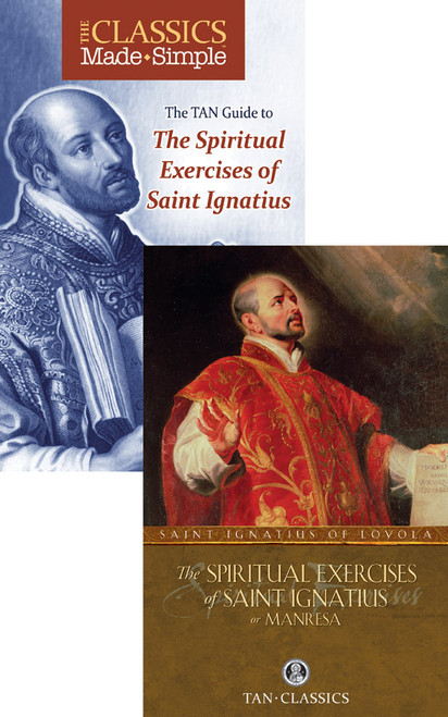 The Classics Made Simple: The Spiritual Exercises of Saint Ignatius (Book & Booklet Set of 2)