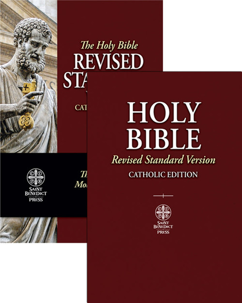 RSV-CE Revised Standard Version Catholic Edition Bible (Paperbound)
