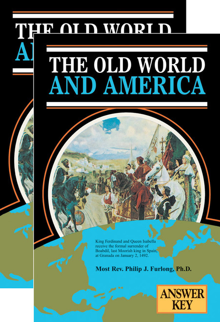The Old World and America (Textbook & Answer Key Set)