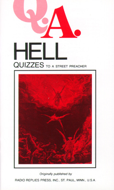 Q.A. Quizzes to a Street Preacher: Hell (eBook)