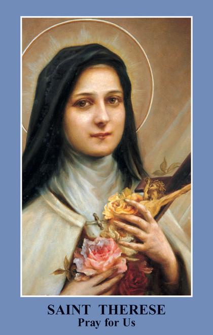Saint Thérèse Prayer Card (Pack of 100)