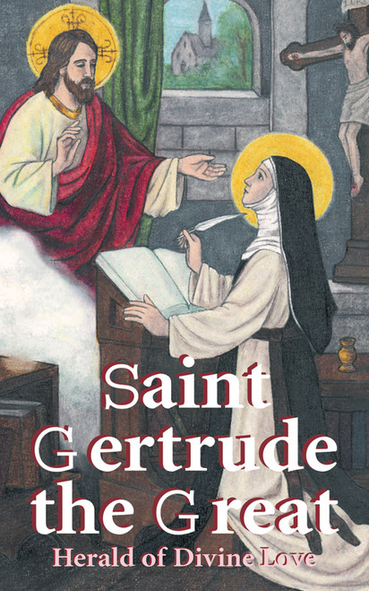 Saint Gertrude the Great: Herald of Divine Love (eBook)