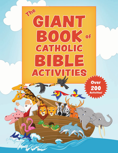 The Giant Book of Catholic Bible Activities: The Perfect Way to Introduce Kids to the Bible!