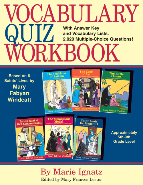 Vocabulary Quiz Workbook (eBook)