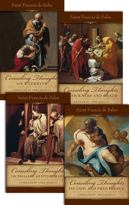 Consoling Thoughts of Saint Francis de Sales (Complete Set of 4)