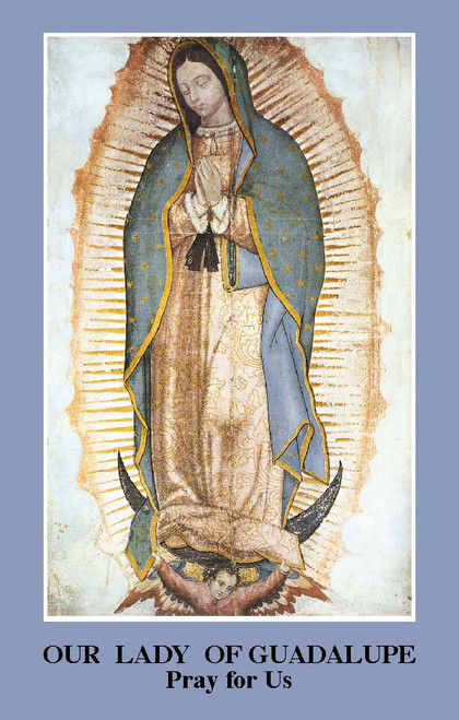 Our Lady of Guadalupe Prayer Card (Pack of 100)