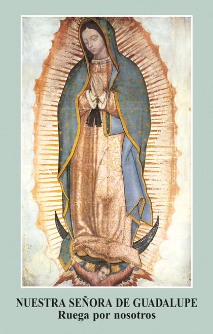 Oración a Nuestra Señora de Guadalupe Prayer Card (Pack of 100)