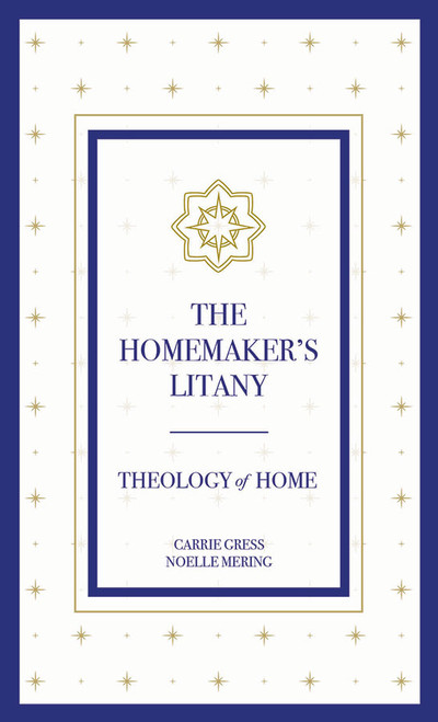 The Homemaker's Litany Prayer Card (Pack of 10)