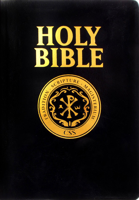 Catholic Scripture Study Bible: RSV-CE Large Print Edition