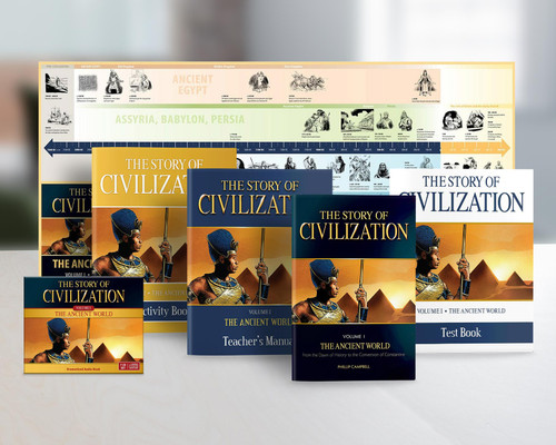 The Story of Civilization Volume 1: The Ancient World (Complete Set)