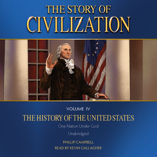 The Story of Civilization Volume 4: The History of the United States (MP3 Audiobook Download) Cover