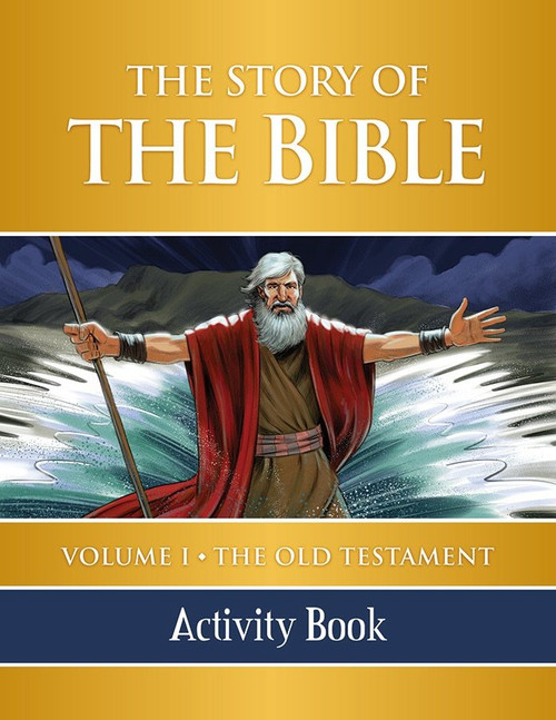 The Story of the Bible Volume 1: The Old Testament (Activity Book)