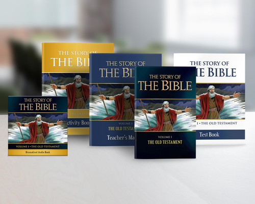 The Story of the Bible Volume 1: The Old Testament (Complete Set)