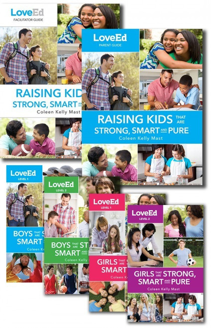 LoveEd: Raising Kids That Are Strong, Smart & Pure (Parish Book Pack)