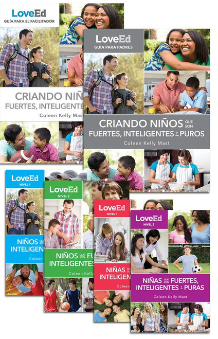 LoveEd: Criando Niños Que Son Fuertes, Inteligentes y Puros (Parish Book Pack)