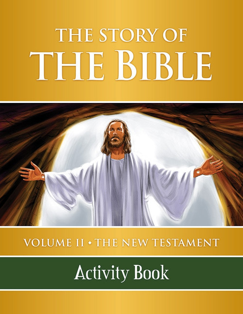 The Story of the Bible Volume 2: The New Testament (Activity Book)