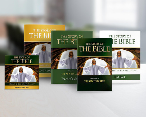 The Story of the Bible Volume 2: The New Testament (Complete Set)