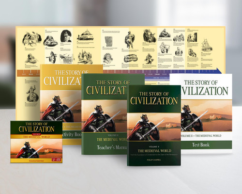 The Story of Civilization Volume 2: The Medieval World (Complete Set)