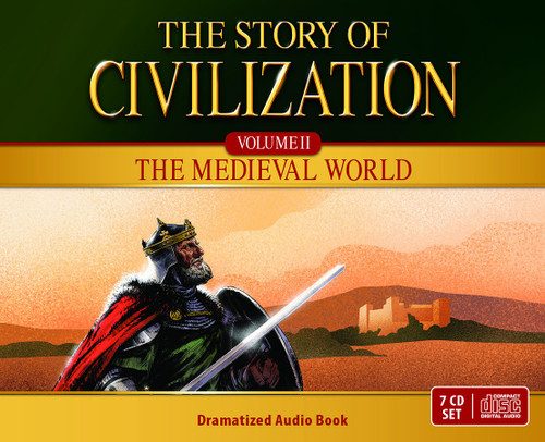 The Story of Civilization Volume 2: The Medieval World (CD Set) Cover