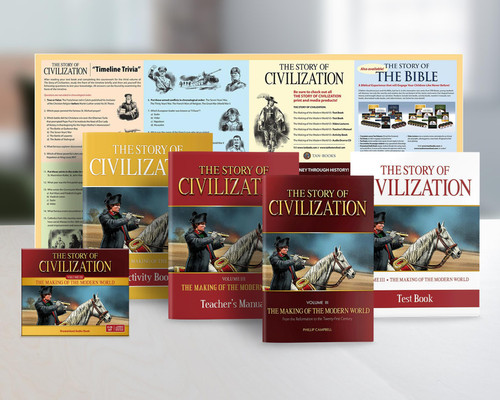 The Story of Civilization Volume 3: The Making of the Modern World (Complete Set)