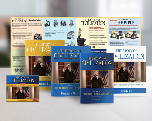 The Story of Civilization Volume 4: The History of the United States (Complete Set)