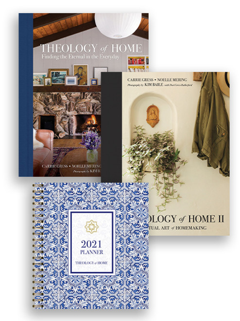 Theology of Home Set: Book 1, Book 2, and Planner