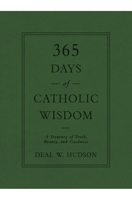 365 Days of Catholic Wisdom book cover