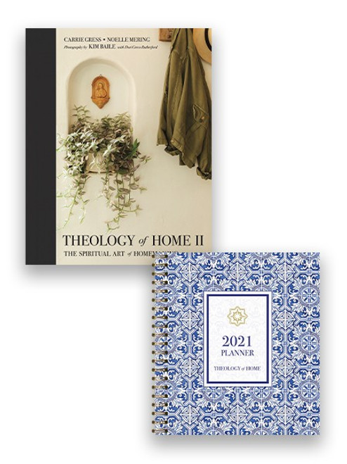 Theology of Home Set: Book 2, and Planner