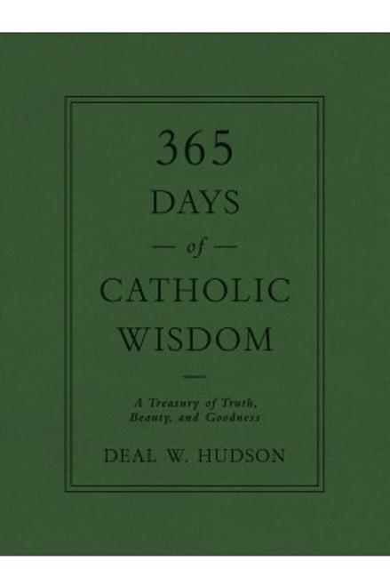 365 Days of Catholic Wisdom book cover