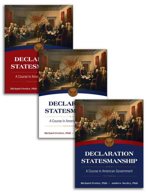 Declaration Statesmanship: A Course in American Government Set