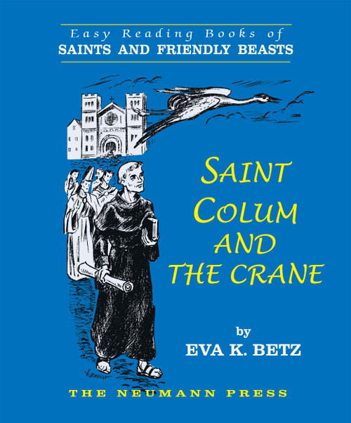 Saint Colum and the Crane