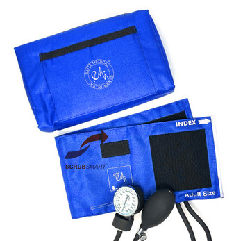 EMI Aneroid Sphygmomanometer Manual Blood Pressure Cuff - Royal