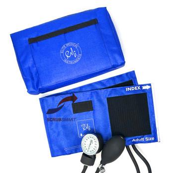 EMI Aneroid Sphygmomanometer Manual Blood Pressure Cuff - Royal