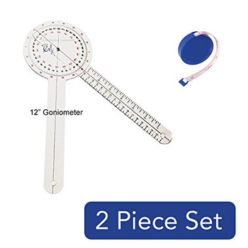 "EMI Tape Measure AND 12"" Goniometer Set EGM-422TM"